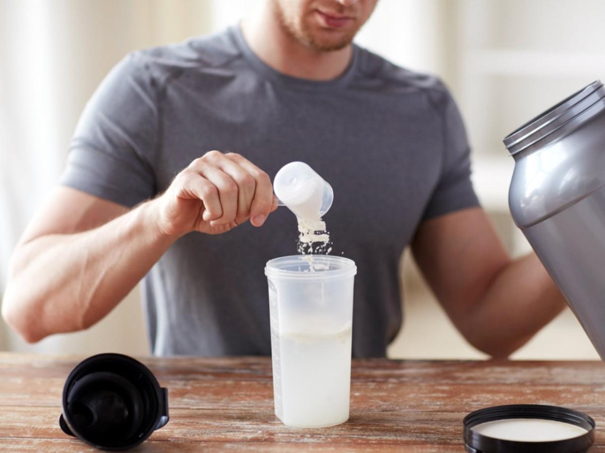 Stackear Proteína, Creatína y Vitamína C